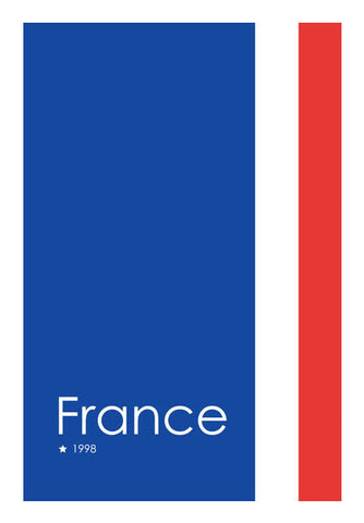 France Forever Wall Art | Artist : Alok Sharma