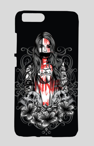 Girl With Tattoo Xiaomi Mi-6 Cases | Artist : Inderpreet Singh