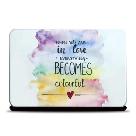 Laptop Skins, love Laptop Skins | Artist : Vanya Verma, - PosterGully