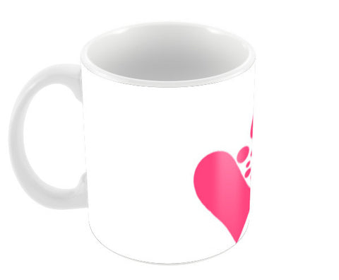 Heart Coffee Mugs | Artist : Aishwarya Tandon