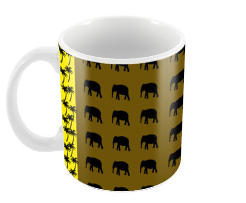 Elephant Art Coffee Mugs | Artist : Nisha Prabhu