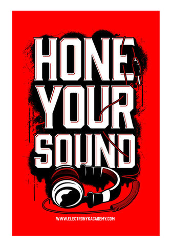 Wall Art, Hone your sound Wall Art | DJ NYK, - PosterGully