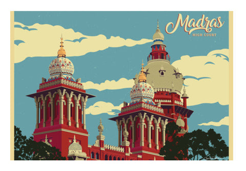 Madras High Court Art PosterGully Specials
