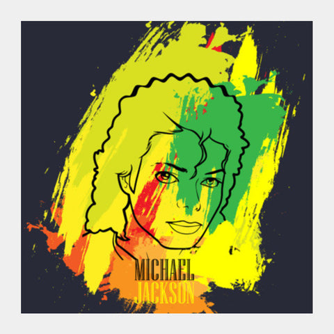 Michael Jackson Square Art Prints PosterGully Specials