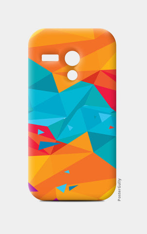 Moto G Cases, Color Triangle Moto G Cases | Artist : Manju Nk, - PosterGully