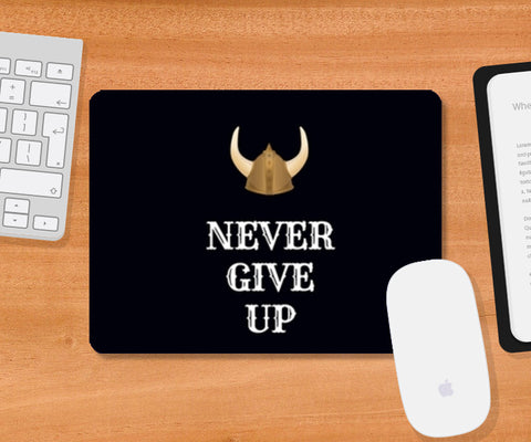 Never Give Up Mousepad | Artist : Pallavi Rawal