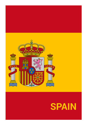 Spain | #Footballfan Wall Art | Artist : Creative DJ