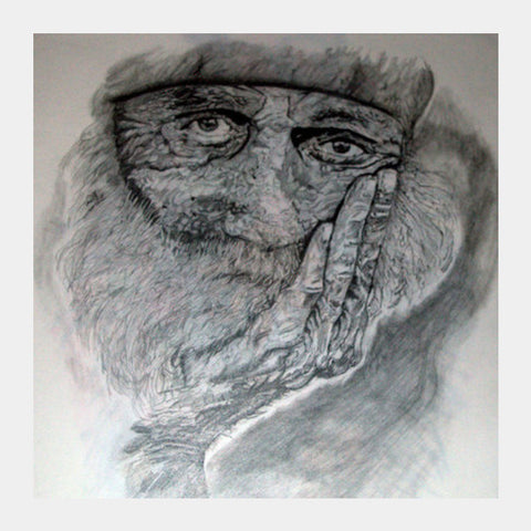 Square Art Prints, Aging Square Art Prints | Artist : Kriti Pahuja, - PosterGully