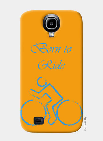 Samsung S4 Cases, Born to Ride - Cycle Samsung S4 Cases | Artist : Gagandeep Singh, - PosterGully