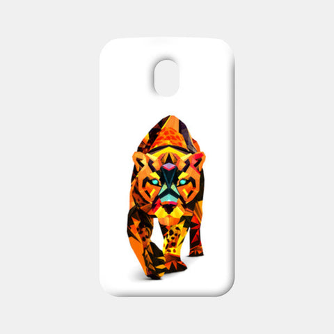 Faceart Animal Moto G3 Cases | Artist : Facets