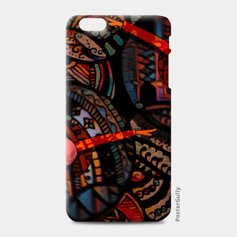 Dancing with colors iPhone 6 Plus/6S Plus Cases | Artist : Karthik Gowrisankar