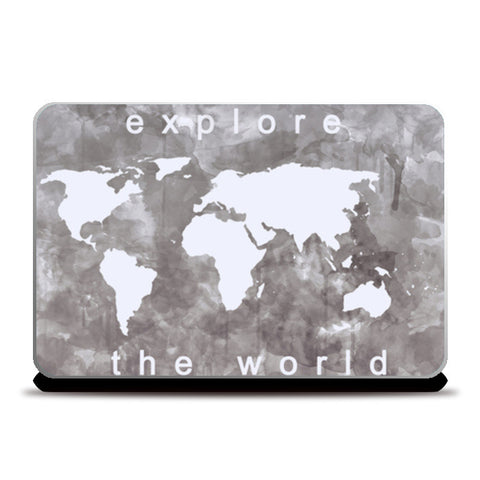Explore the world Laptop Skins | Artist : Naeema Rezmin