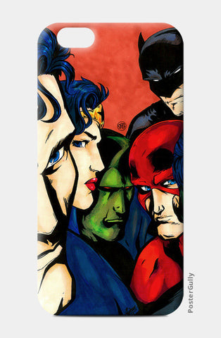 iPhone 6/6S Cases, JLA fan art iPhone 6/6S Cases | Artist : Monisha Miriam, - PosterGully
