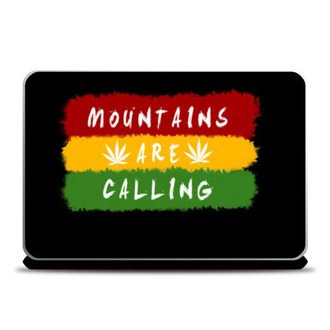 Mountains are Calling Laptop Skins | Artist : C-zure