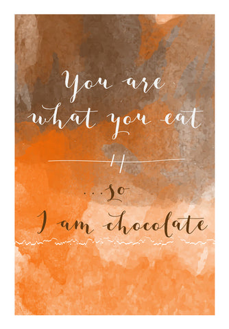 You Are What You Eat Wall Art | Artist : Creative DJ