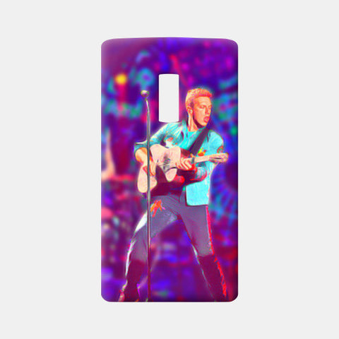 Chris Martin from Coldplay One Plus Two Cases | Artist : Ayushi Jain