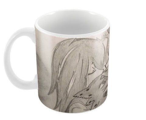 Train your Dragon Kiss Hiccup Toothless Coffee Mugs | Artist : DIVYA SHUKLA