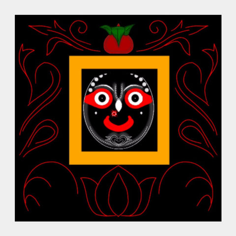 Square Art Prints, Jagannatha Square Art Prints | Pratyasha Nithin, - PosterGully