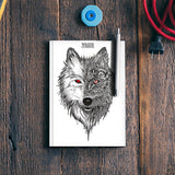 Game Of Thrones | Winter is Coming | Wolf Notebook | Artist : Pragya Bhandari