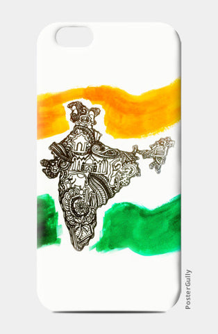India iPhone 6/6S Cases | Artist : Ayushi Teotia