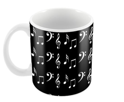 Musical Notes Coffee Mugs | Artist : Nisha Prabhu