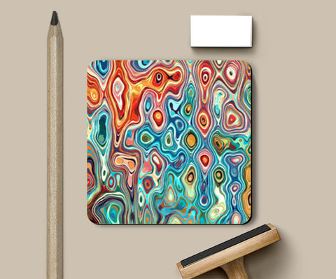 Coasters, psychedelic Coasters | Artist : abhijeet sinha, - PosterGully