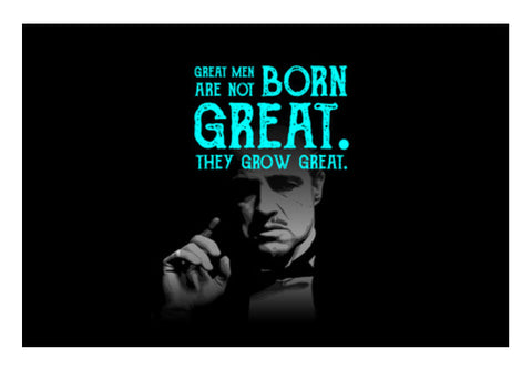 Godfather quote Wall Art  | Artist : Abhishek Faujdar
