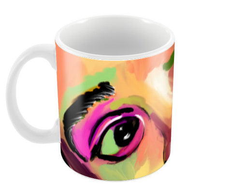 INNOCENCE #baby #kids #colorful #portrait #people #painting #sketches # Coffee Mugs | Artist : Jessica Maria