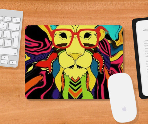 50 shades of Leo  Mousepad | Artist : nilesh gupta