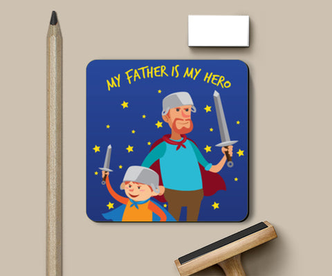 Warrior Dad Father's Day | #Father's Day Special  Coasters | Artist : Creative DJ