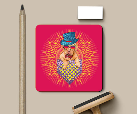 Coasters, Cool Dog Design Coasters | Artist : Sudhakar Kamath, - PosterGully
