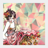 Square Art Prints, In Vogue Square Art Prints | Artist : Astha Mathur, - PosterGully