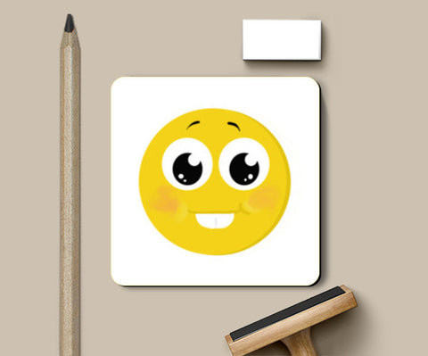 happy face Coasters | Artist : Monami Debnath