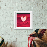 My everything Premium Square Italian Wooden Frames | Artist : Pallavi Rawal