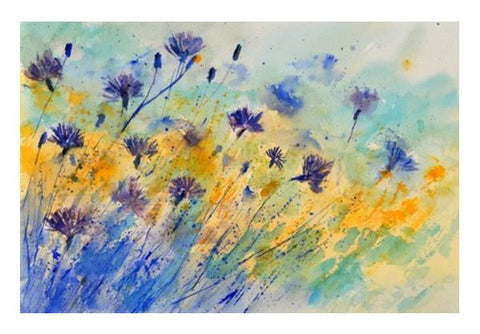 PosterGully Specials, Blue cornflowers 417 Wall Art | Artist : pol ledent, - PosterGully