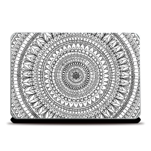 Laptop Skins, Filigree Mandala Laptop Skins | Artist : Suchita Pande, - PosterGully