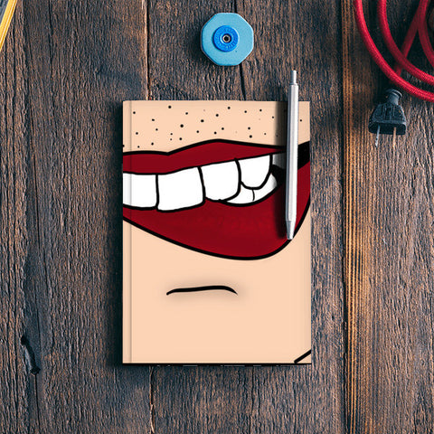 lips Notebook | Artist : DISHA BHANOT