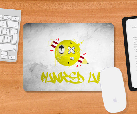 punked up graffiti Mousepad | Artist : Shantanu Kumar