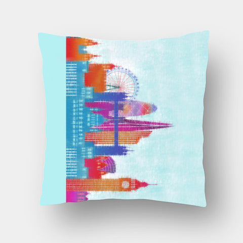 Cushion Covers, London Cushion Covers | Artist : Pritika Uppal, - PosterGully
