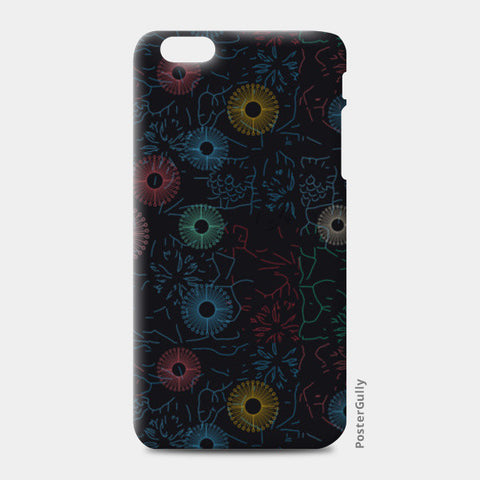 Difficult level mandala circle flower pattern iPhone 6 Plus/6S Plus Cases | Artist : Designerchennai