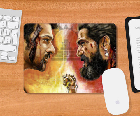 Baahubali Rage Mousepad | Artist : Draw On Demand