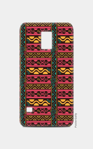 Abstract geometric pattern african style Samsung S5 Cases | Artist : Designerchennai