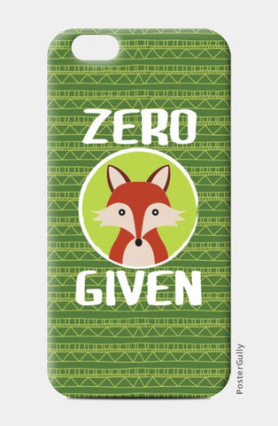 iPhone 6/6S Cases, Zero Fox Given iPhone 6/6S Cases | Artist : Random Chinese Friend, - PosterGully