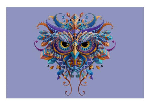 PosterGully Specials, Owl Tribe Genius Wall Art | Artist : Pranit Jaiswal, - PosterGully