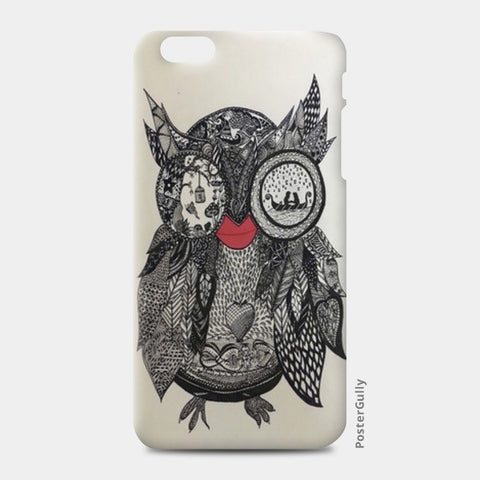 The Mystic Owl iPhone 6 Plus/6S Plus Cases | Artist : Quirky Designs by Priyanka Singhania