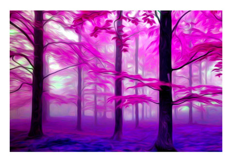 Pink Nature Wall Art  | Artist : Rameshwar Chawla