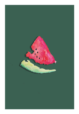 WATERMELON Wall Art | Artist : sana saluja