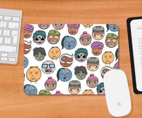 Funky People of India  Mousepad | Artist : Harsimran sain