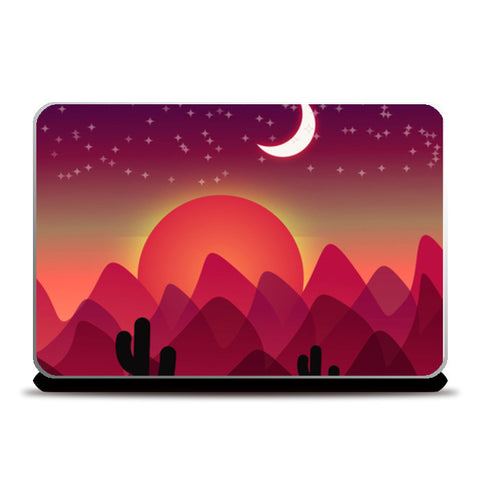 Laptop Skins, Beautiful Starry Night Laptop Skins | Artist : Design_Dazzlers, - PosterGully