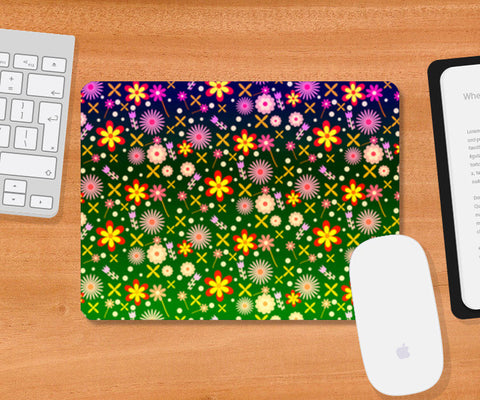 Colorful Flowers Mousepad | Artist : Design_Dazzlers